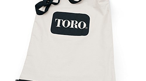 Toro 51503 Bottom Zip Replacement Bag White Leaf